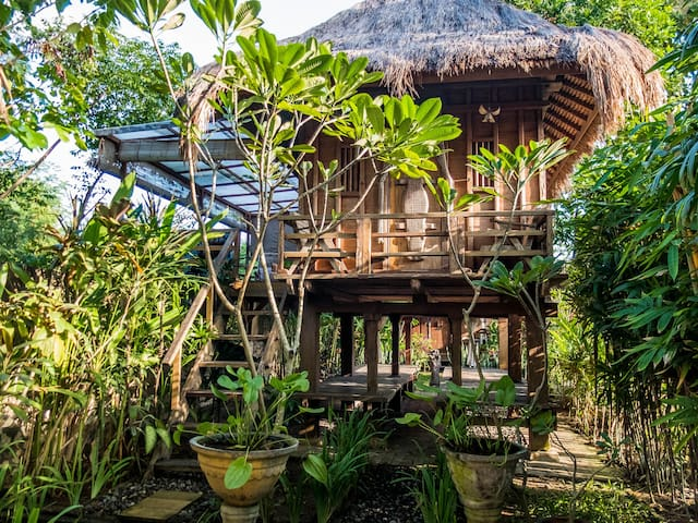 Balinese traditional barn house