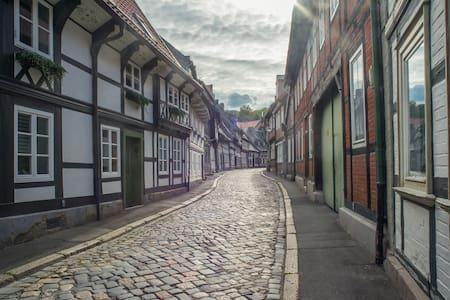 Peters Island in old town of Goslar
