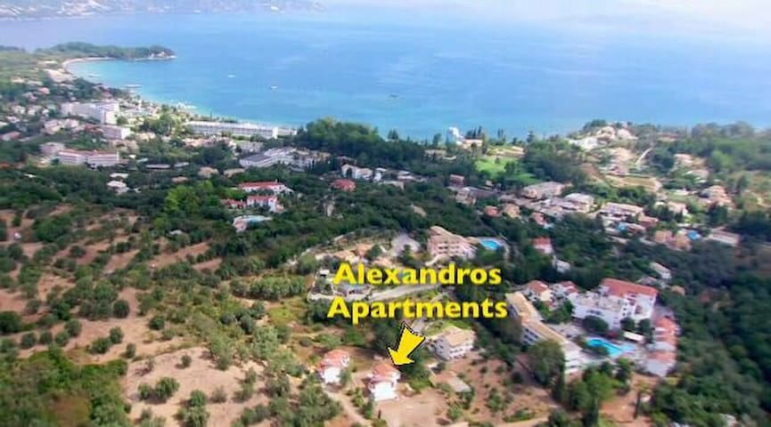 Alexandros Apartments Studio 4 - Corfu - Leilighet