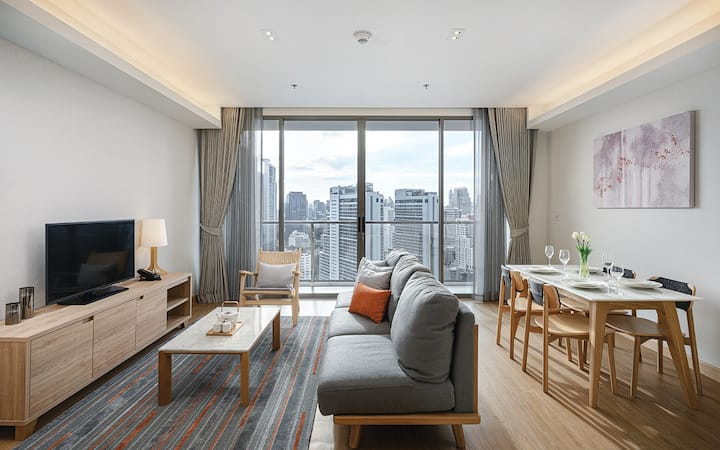 Two Bedroom Executive @ Oakwood Suites Bangkok