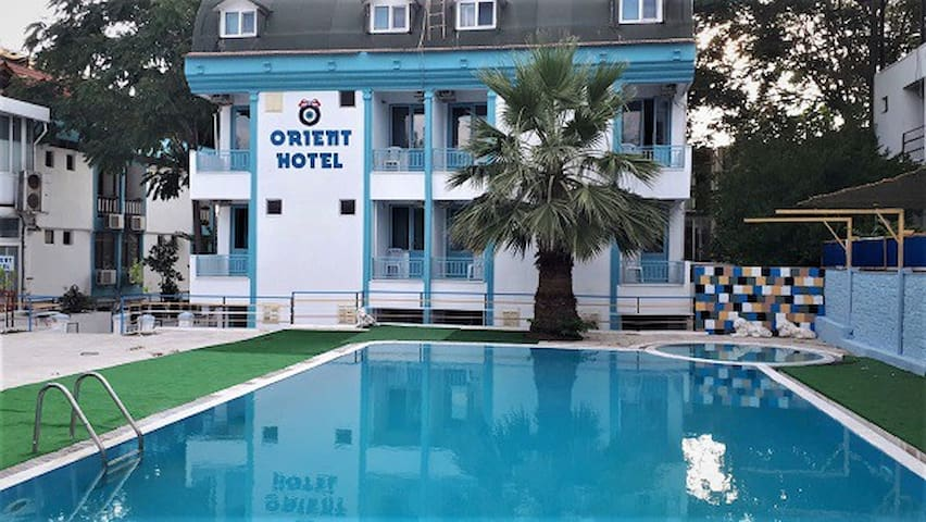 Hotel Orient Pamukkale ,Denizli ,Turkey .