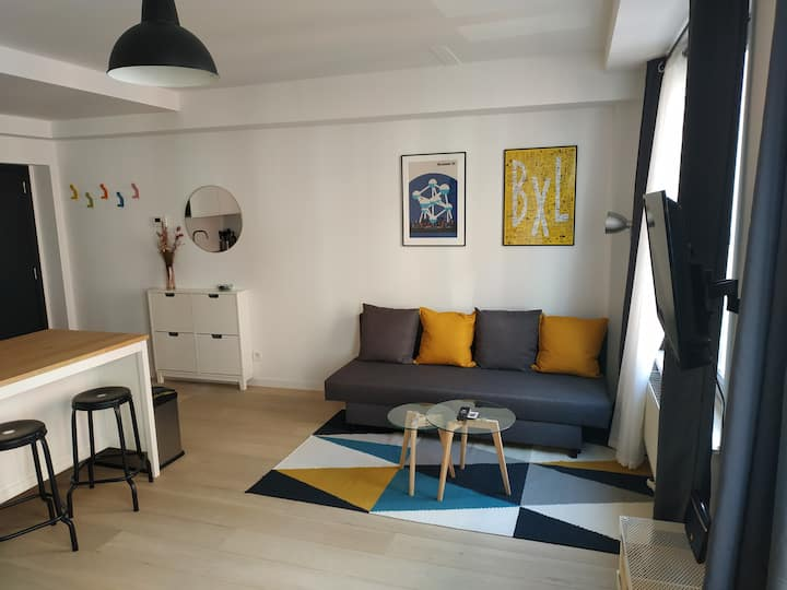 Cozy and Bright Studio near Center
