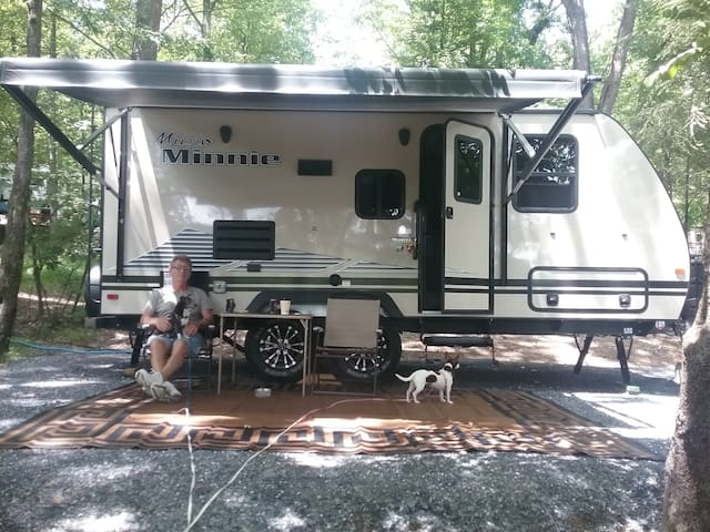 Try RVing before buying , set up and ready.