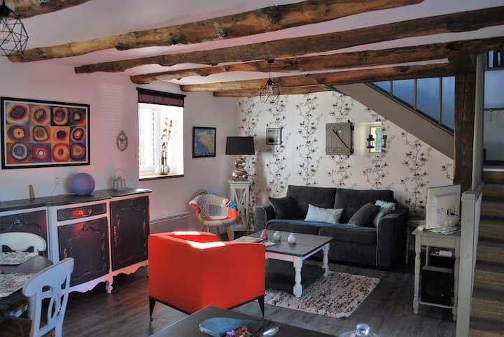 Maison complète à 5 min de Pontivy : Gîte Rosalie