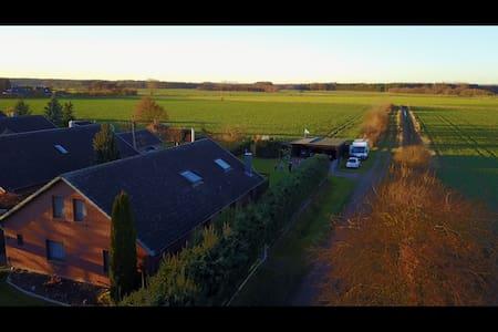 Eigene Wohnung im OG Idylle Entspannung Natur,Elbe