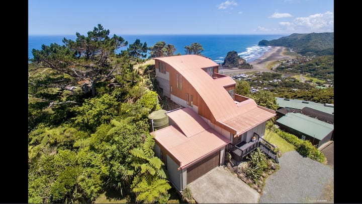 Piha SkyLounge with stunning panoramic views #1