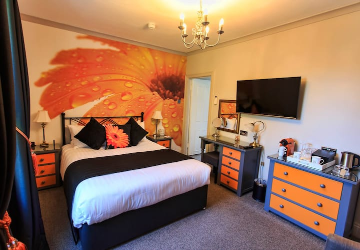 Number One B&B in Devon - The 25 Boutique B&B - Oddicombe Room, 5* + parking