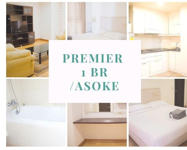 PREMIERE 1 BEDROOM /ASOKE/3MIN TO BTS/FREE WIFI