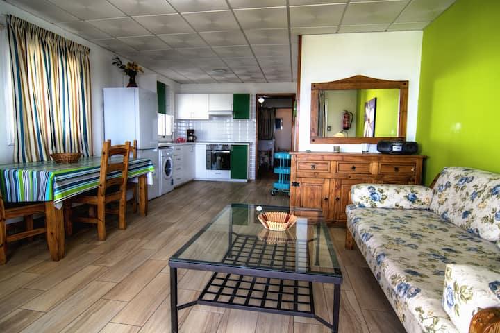 Casa Capitan primera linea de mar, vista mar, wifi