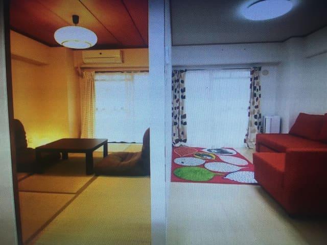 Spacious and comfortable apartment - 大阪 - Rumah