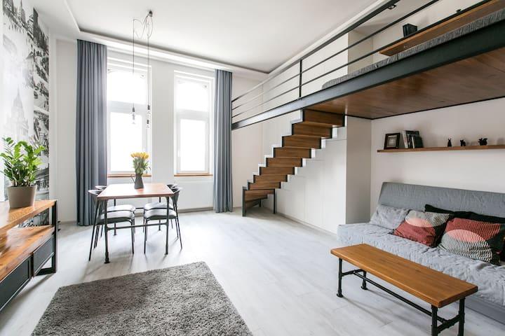 ★Un apartamento romántico cerca del Castillo Buda★