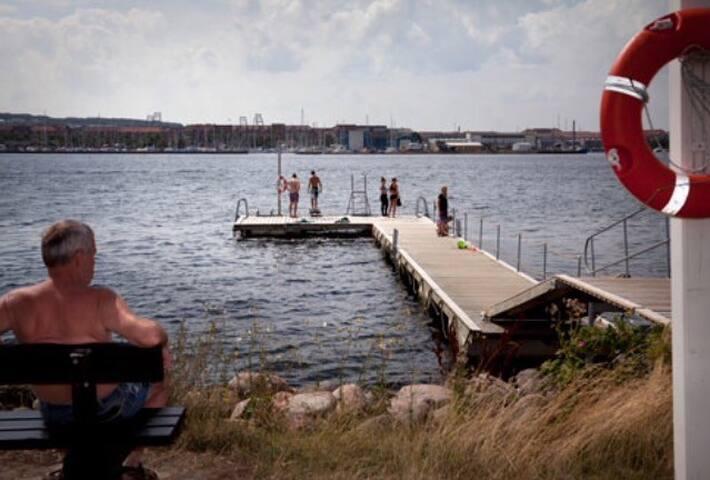 Hyggelig lejlighed ved strandparken - Aalborg - Condomínio