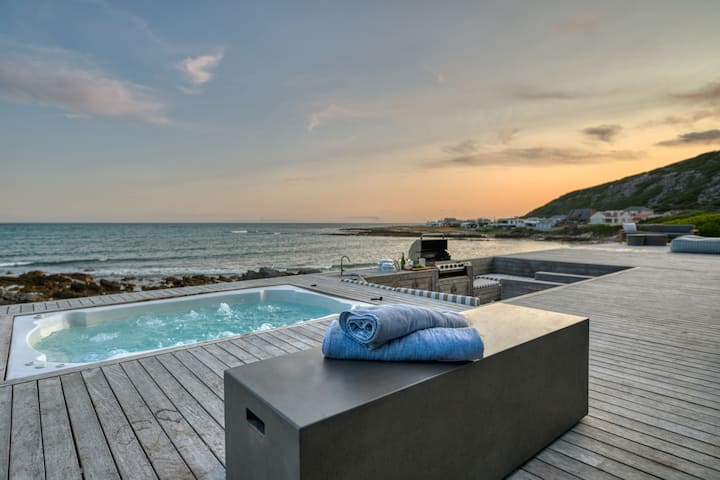 Villa sleeps 18, with your own private beach!