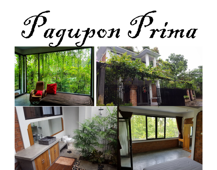Pagupon Prima-Spacious Room with Open Air Bathroom
