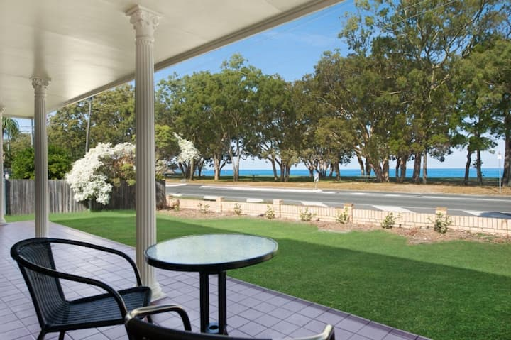 Large family waterfront home with room for a boat -  Welsby Pde, Bongaree