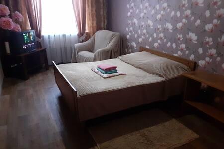 1 комнатная уютная квартира для гостей города!