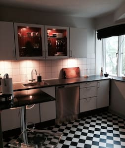 Nice central apartment in a quiet area - Viby - Lejlighed