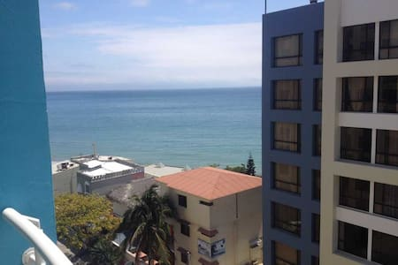 apartamento de 2 dormitorios playa Manta flat 2 br - Manta - Apartment