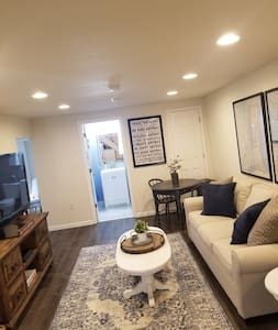 Beautiful bright and open basement apartment.