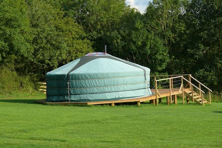 Oak Tree Lane, Dartmoor Yurts - Yurt