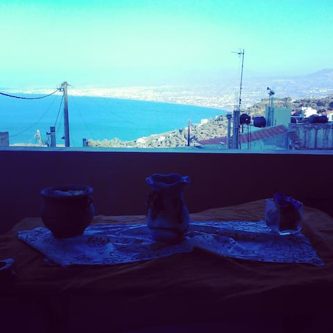 Traditional house-spectacular view! - Heraklion - Ev