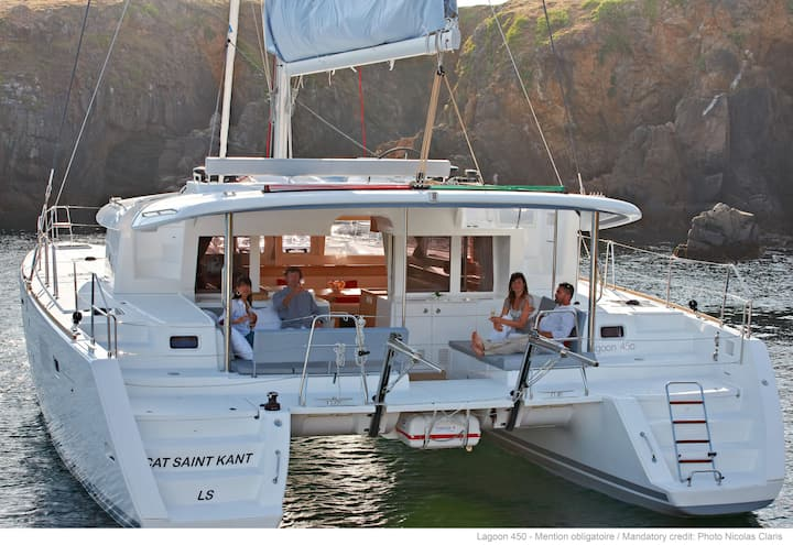 Luxury Catamaran Lagoon 450, AC & Generator, Dubrovnik-Split