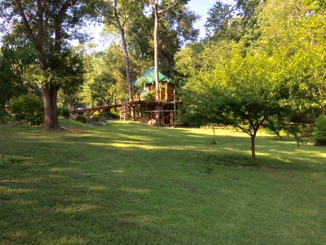 Robbin's Nest Treehouse, live in the trees! - Wilmington - Casa na árvore