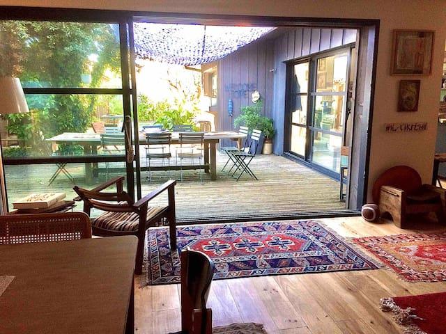Maison/jardin/piscine