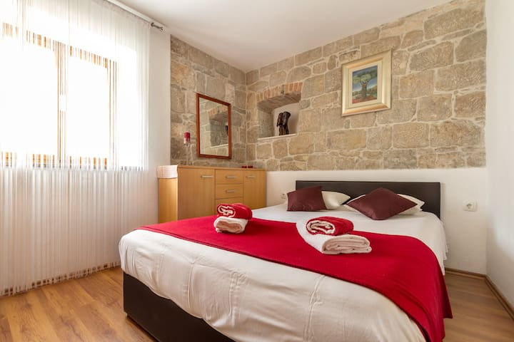 Terra Stone walls apartment in old town