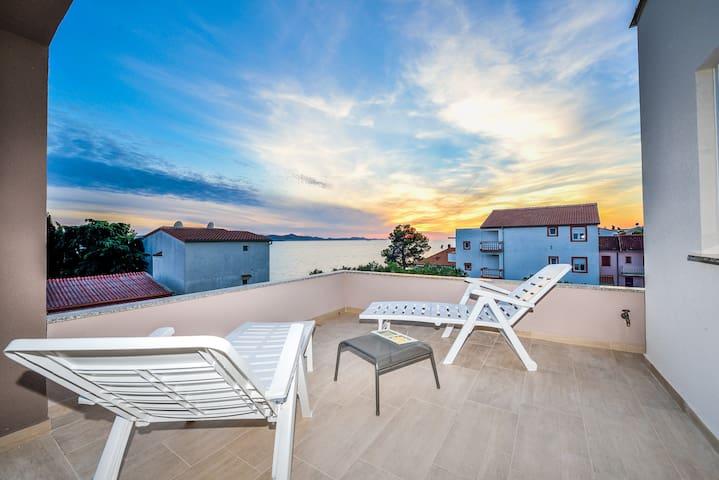 new apartment, beautifull sea view - Bibinje - Villa