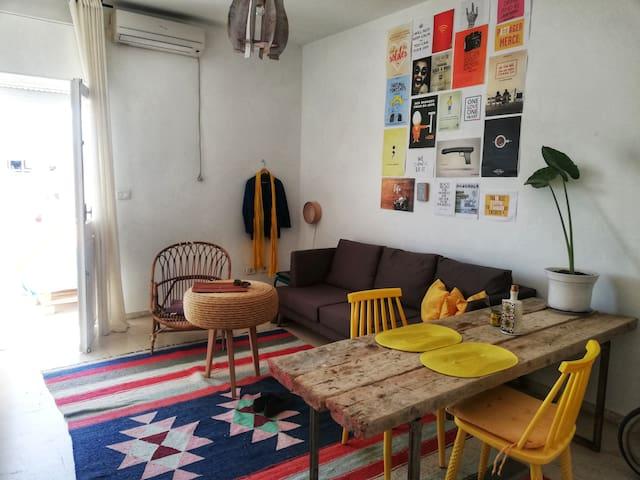Appartement à el Menzah 7 charmant et ensoleiller