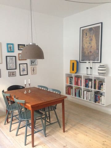 Super cosy apartment in the best part of Nørrebro - Copenhague - Departamento