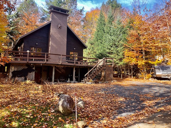 Beautiful Old Forge Home w Lake + Trail access!