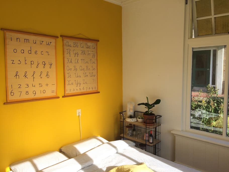 Een zonnig kamertje!