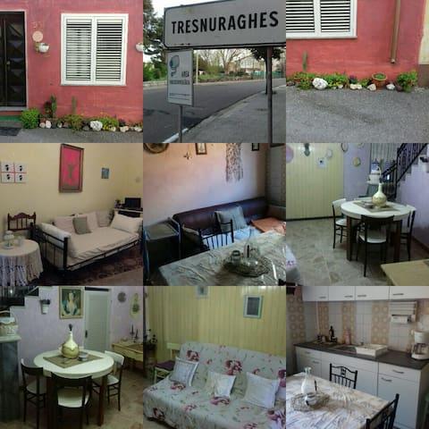 Tresaliandros - Tresnuraghes - Haus