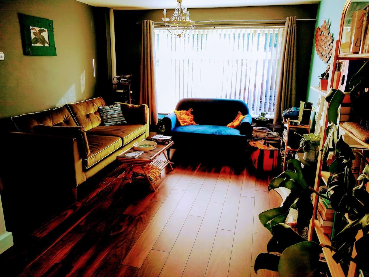 Living room : sofa area