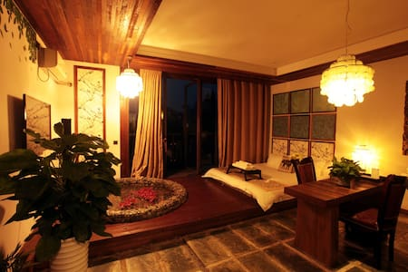 Japanese Hot Springs Suite日式汤池房 - Leshan - Bed & Breakfast