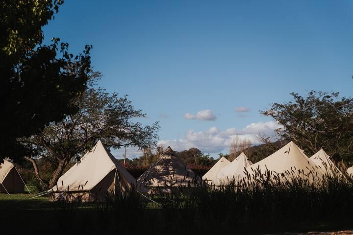 Glamping @ Blue Wren - Tent G3