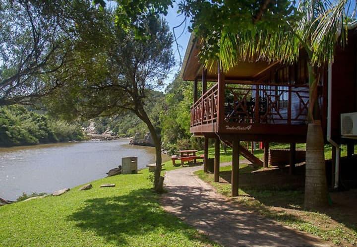 Areena Riverside Resort Timber Chalet