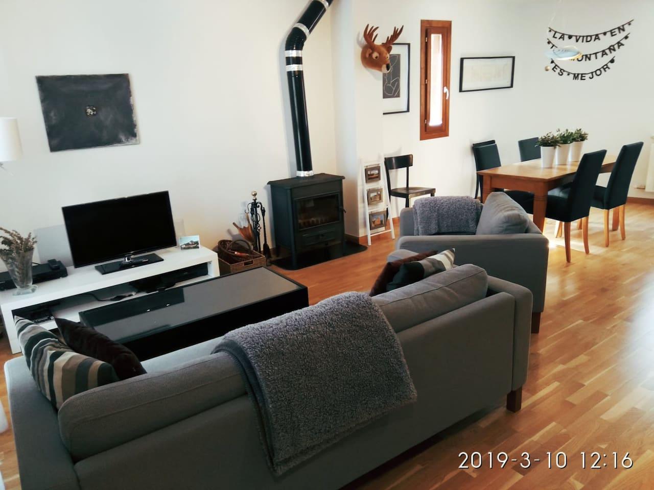 Casa con encanto próxima a Jaca. 140 m2