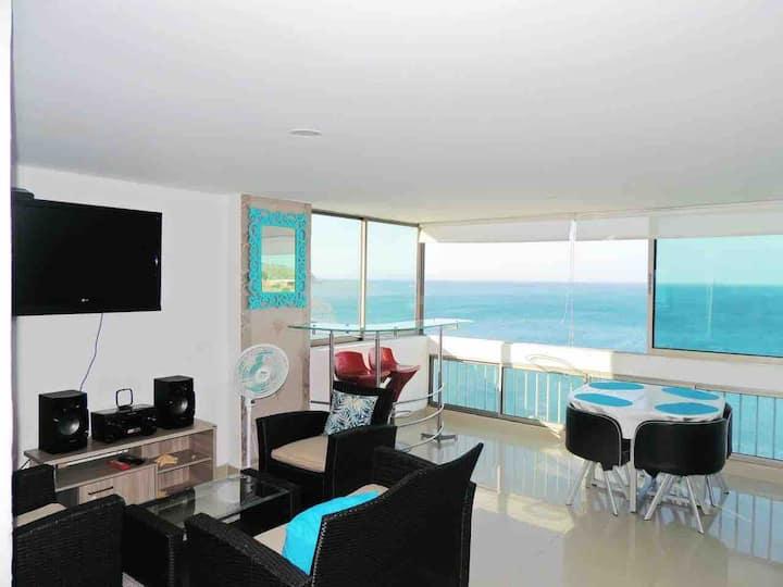 Apartamento deluxe, 2 dormitorios con vista al mar