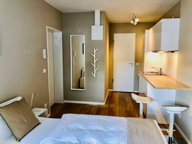 1 Zimmer Cube mit Miniküche Nr. 18