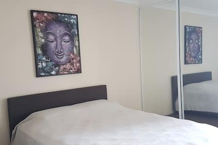 Comfortable bedroom, best location!