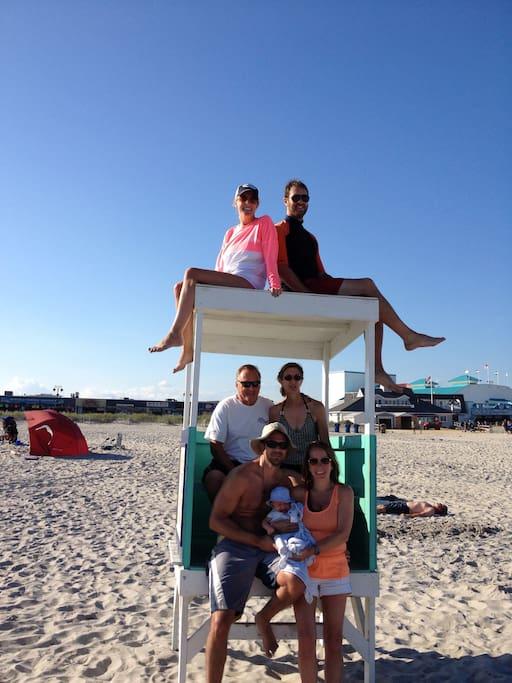 12 Street Beach Family Photos