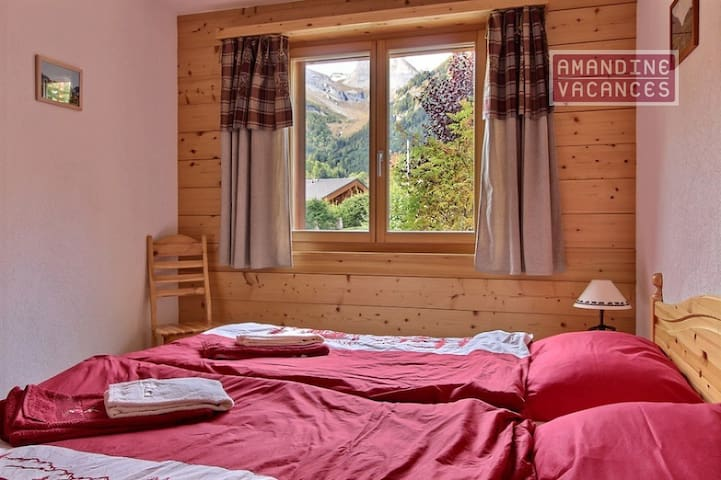 Magnifique Appartement 2 chambres proche des Bains - Leytron - Leilighet