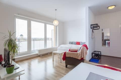 Apartmán s výhledem na Tatry