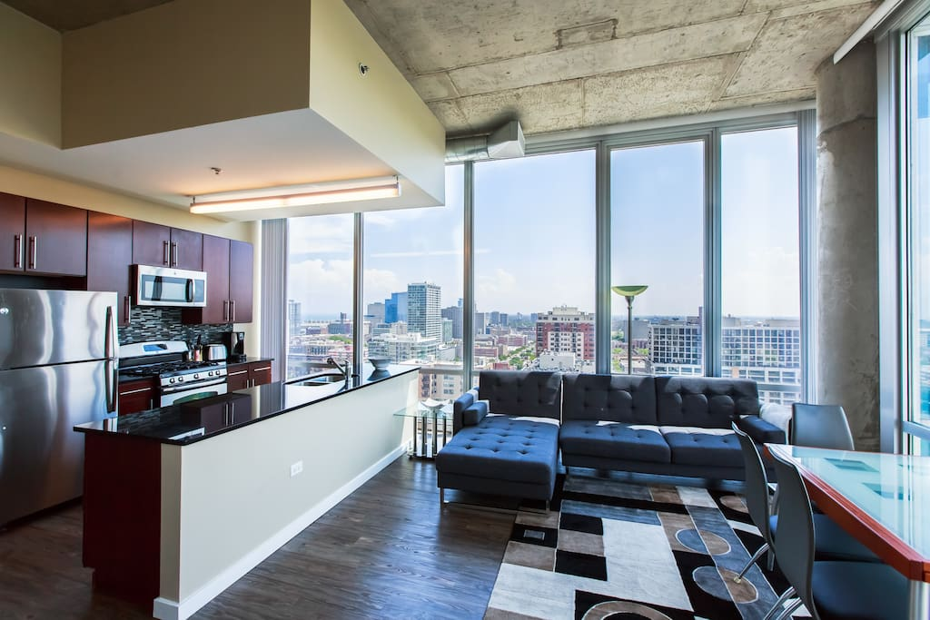 2 Bedroom Penthouse South Loop Downtown 2206 Apartments For Rent In Chicago Illinois
