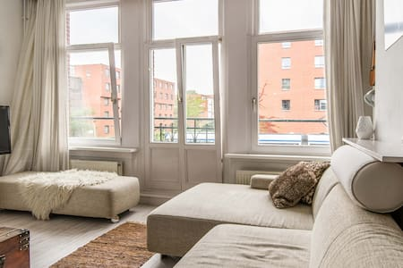 WONDERFUL light apt. for couples! - Ámsterdam - Departamento
