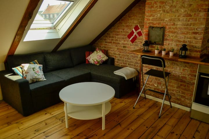 Beautiful & well located loft in Østerbro