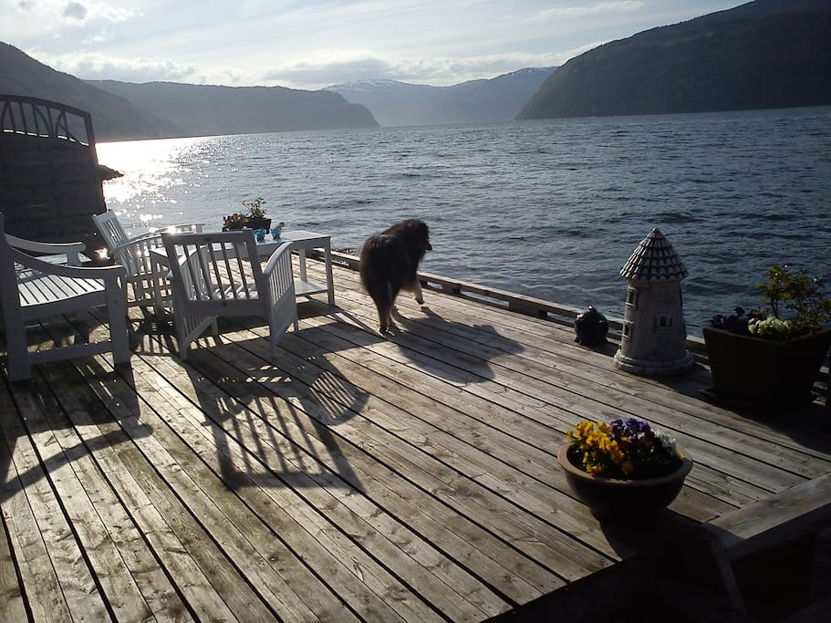 Private jetty - great for those summer nights